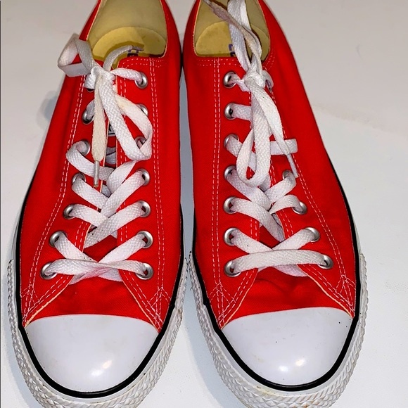Converse Shoes   Mens Red Size 10
